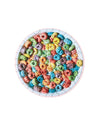 This 70-piece puzzle by Little Puzzle Thing features a colorful picture of a bowl of Froot Loops.