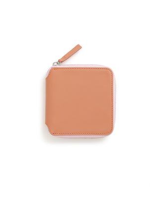 square wallet - terracotta