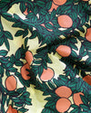 detailed image of orange tree pattern
