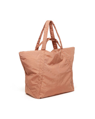 travel cloud bag - terracotta