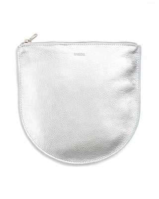 large u pouch - silver