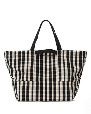 weekend bag - plaid