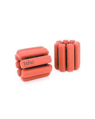 coral color weighted bangle bracelets