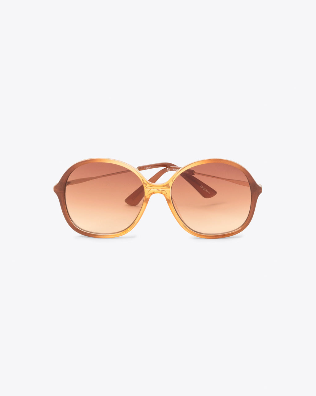 oversized vintage inspired sunglasses with amber lenses