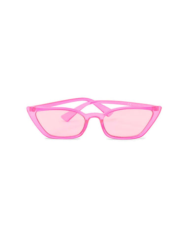 Sharp Cateye - Neon Pink