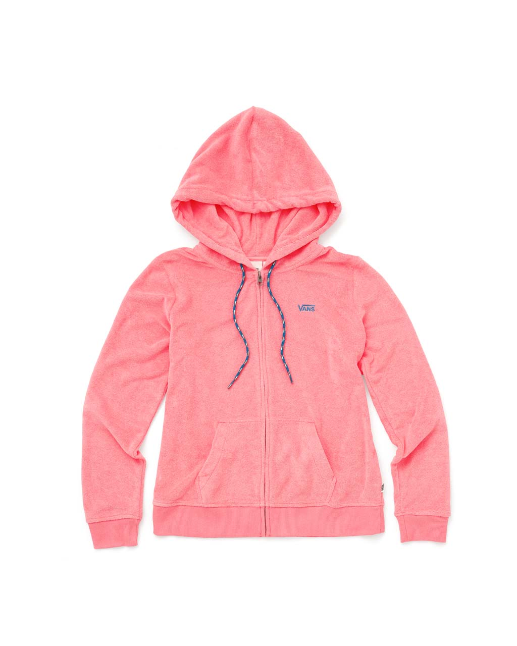 Breezy Zip up Hoodie - Strawberry Pink
