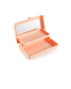 small rectangular caboodles makeup case - peach