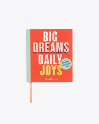 big dreams daily joys paperback book