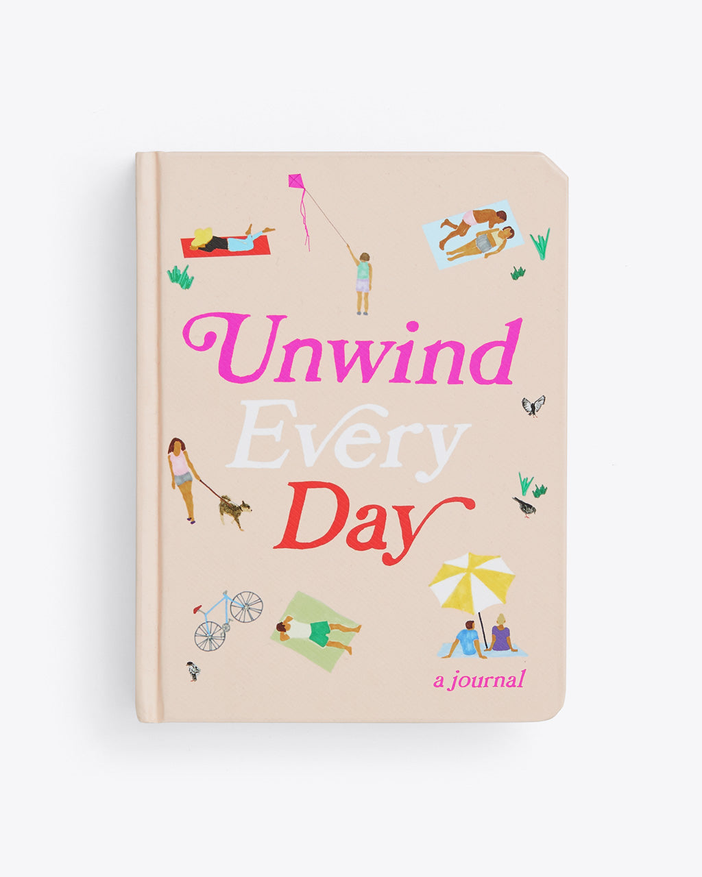 unwind every day journal cover art