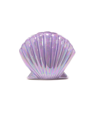 pencil cup - holographic shell