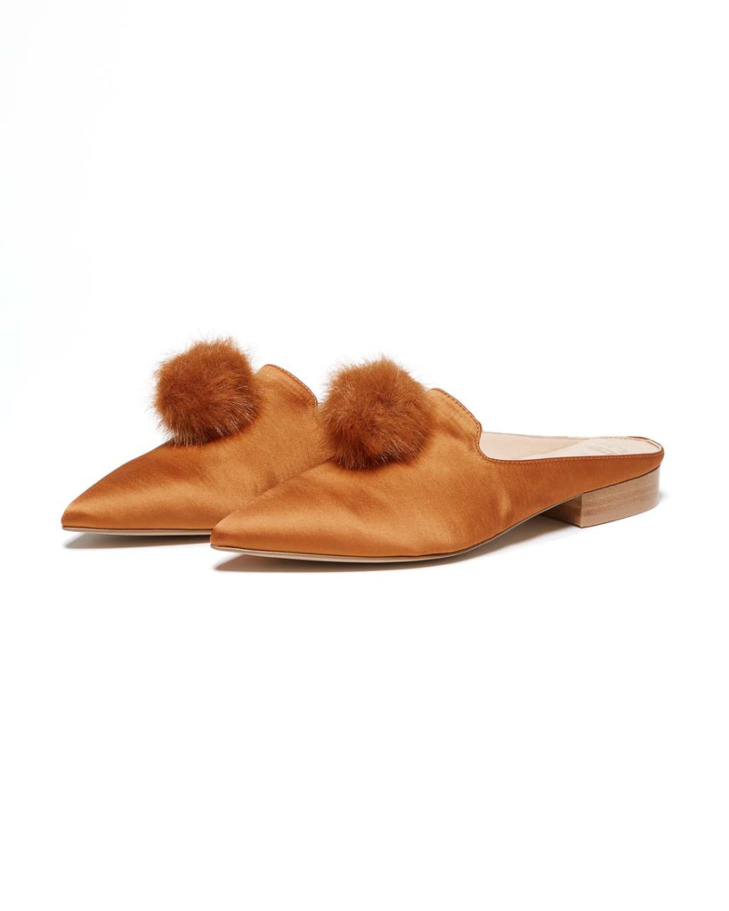 naja slide - rust satin