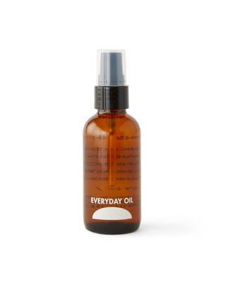 2 oz. glass bottle of unscented oil.