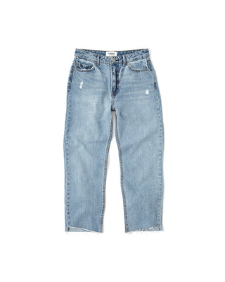girlfriend denim - medium wash