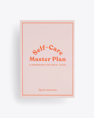 self-care master plan cover
