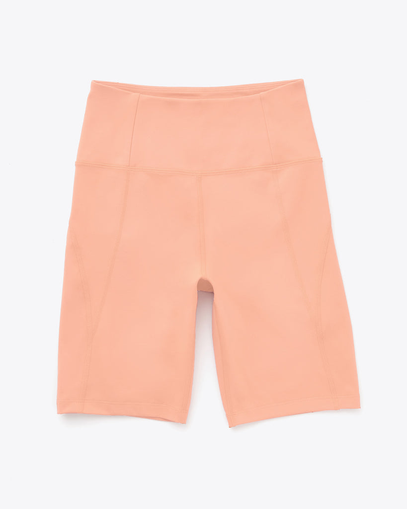 sherbert colored bike shorts