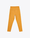 Honey colored compression leggings