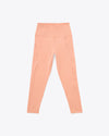 Sherbert colored compression leggings