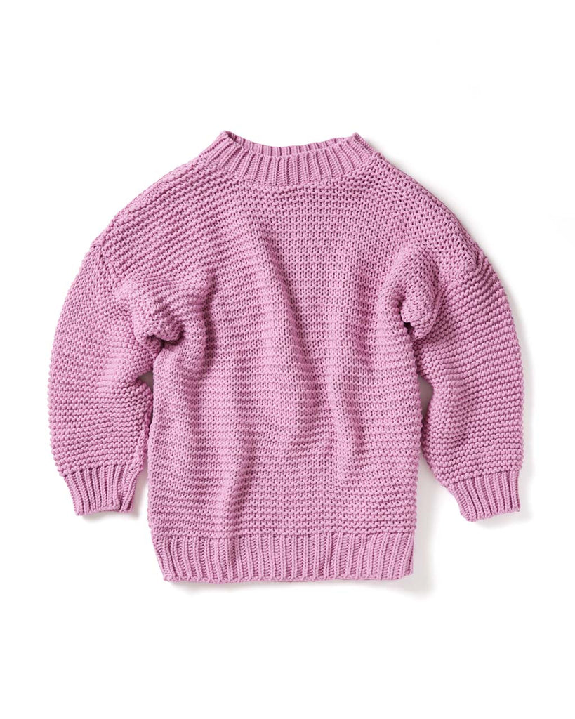 Lilac Oversized Sweater