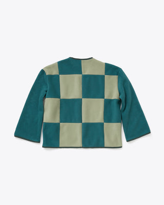 green checkered back jacket