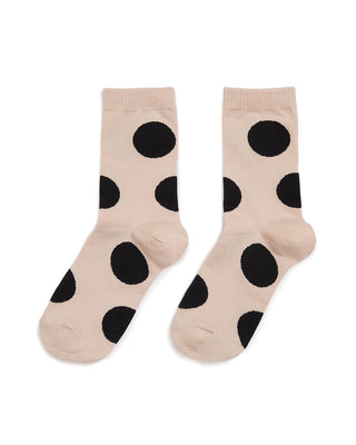 rie crew socks - blush