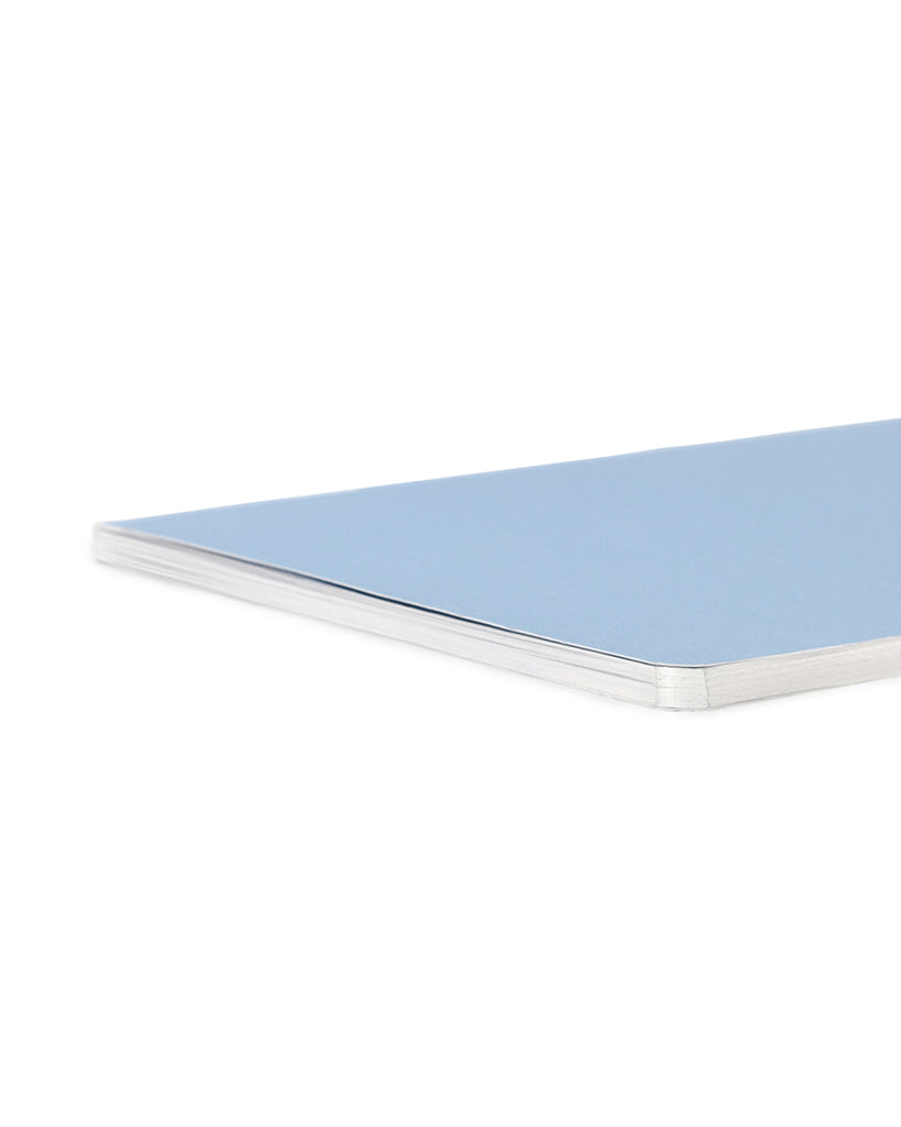 Edge Notebook - Powder Blue/Silver