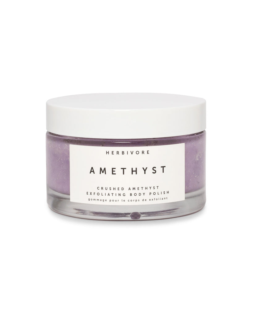 Amethyst body polish.