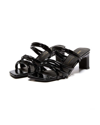 willow-II sandal - black patent