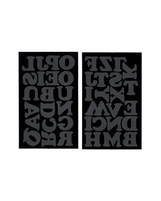 cooper iron-on letters 1 1/2 - black