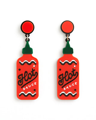 hot sauce earrings