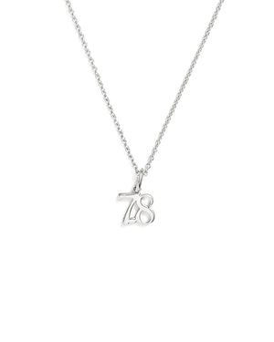 7.8 Necklace - White