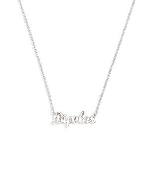 Bipolar Necklace - White