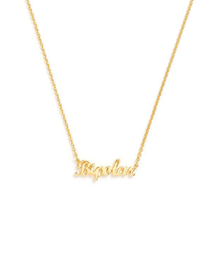 Bipolar Necklace - Yellow