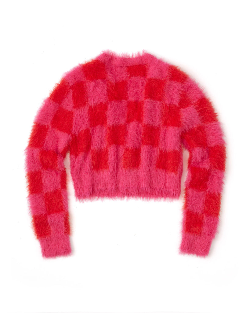 Checkerboard Cardigan