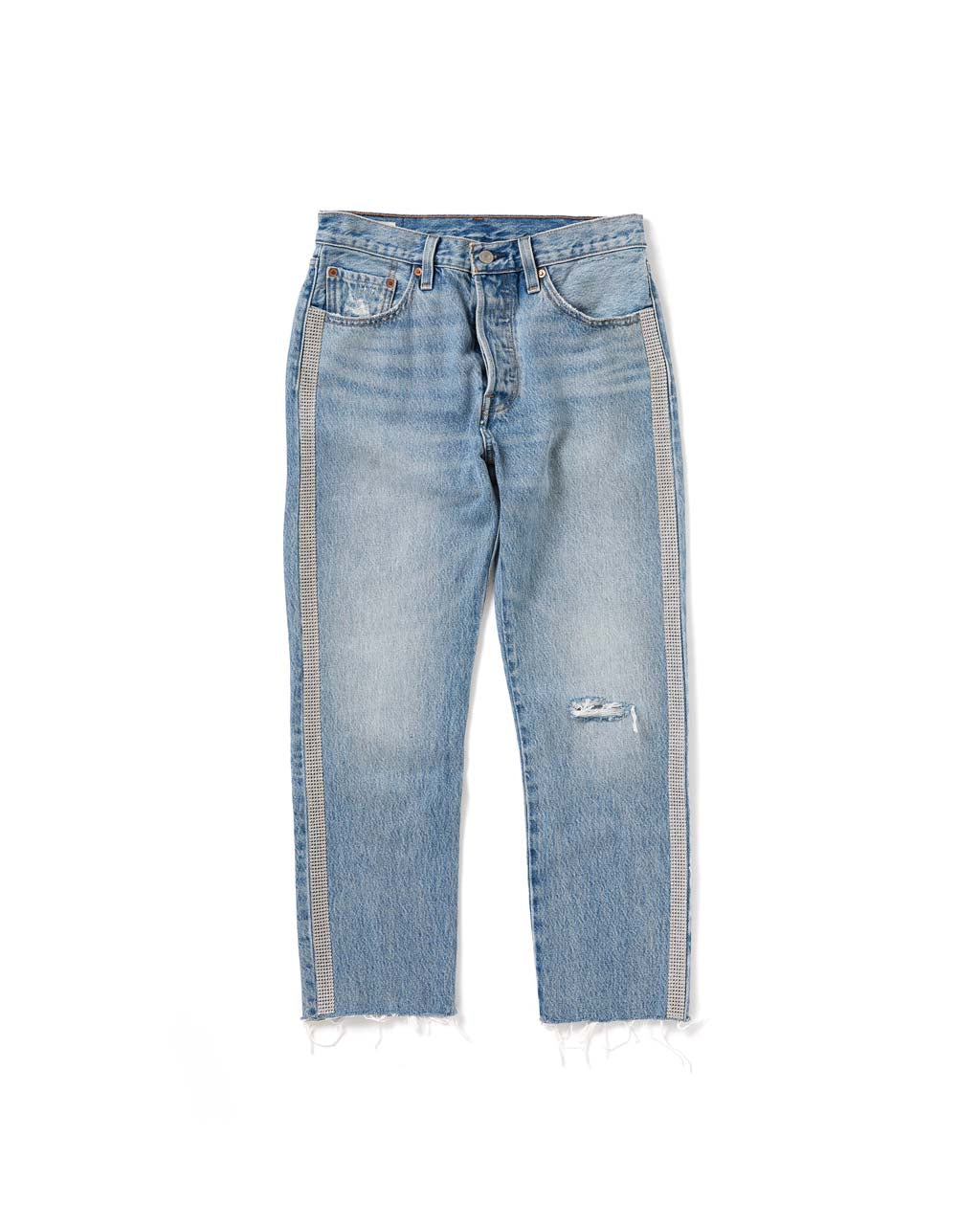 501 Crop Jeans - Diamond In The Rough by levi's - jeans - ban do