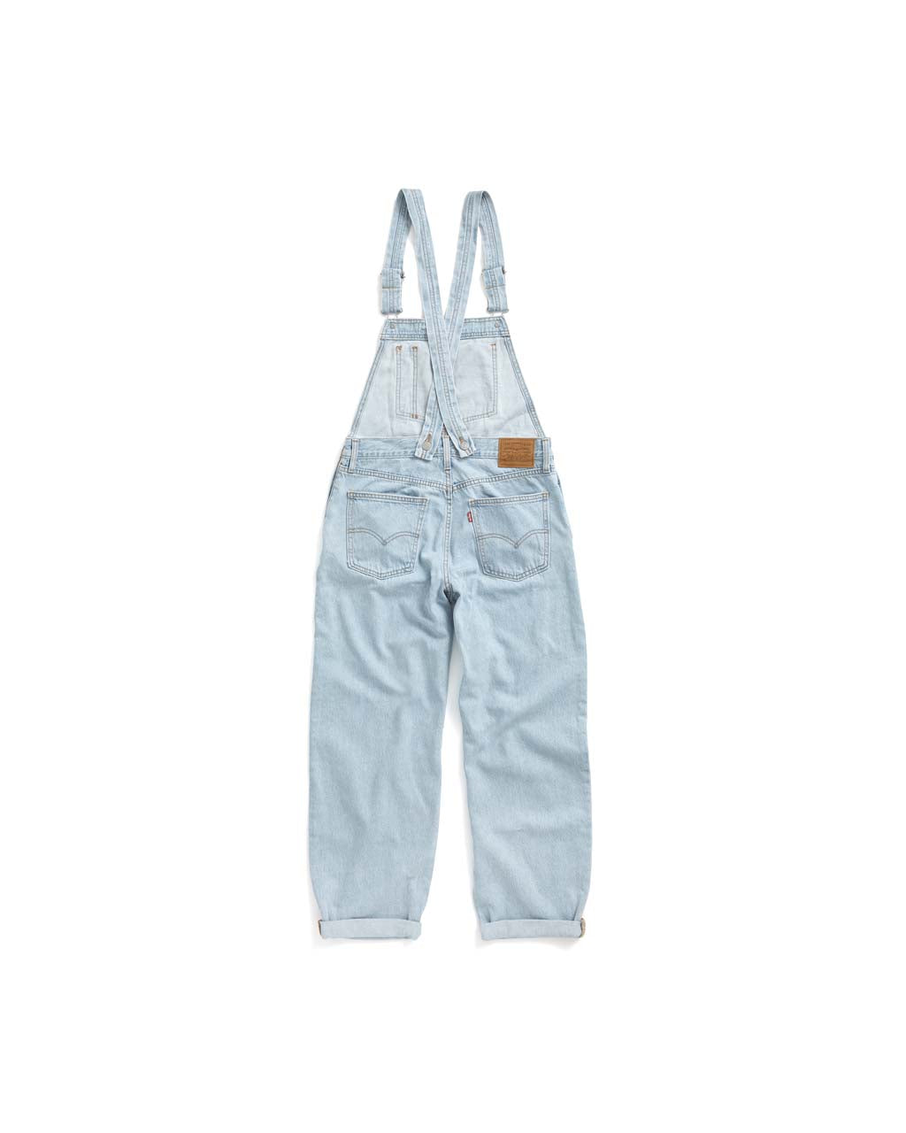 Baggy Overall - Light Wash