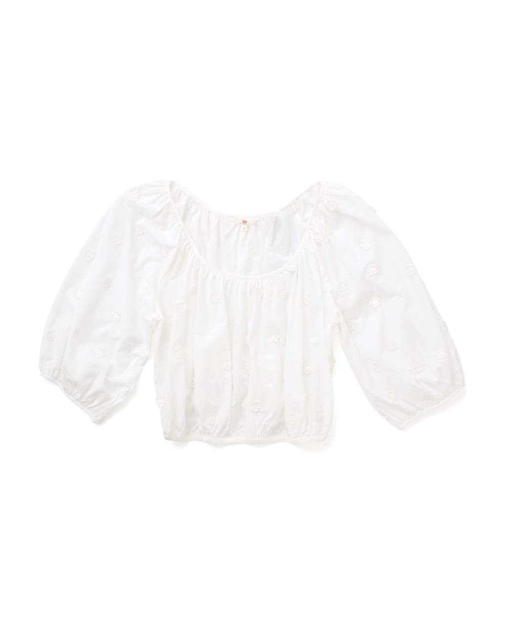 Kaia Top - Mccoll Bright White