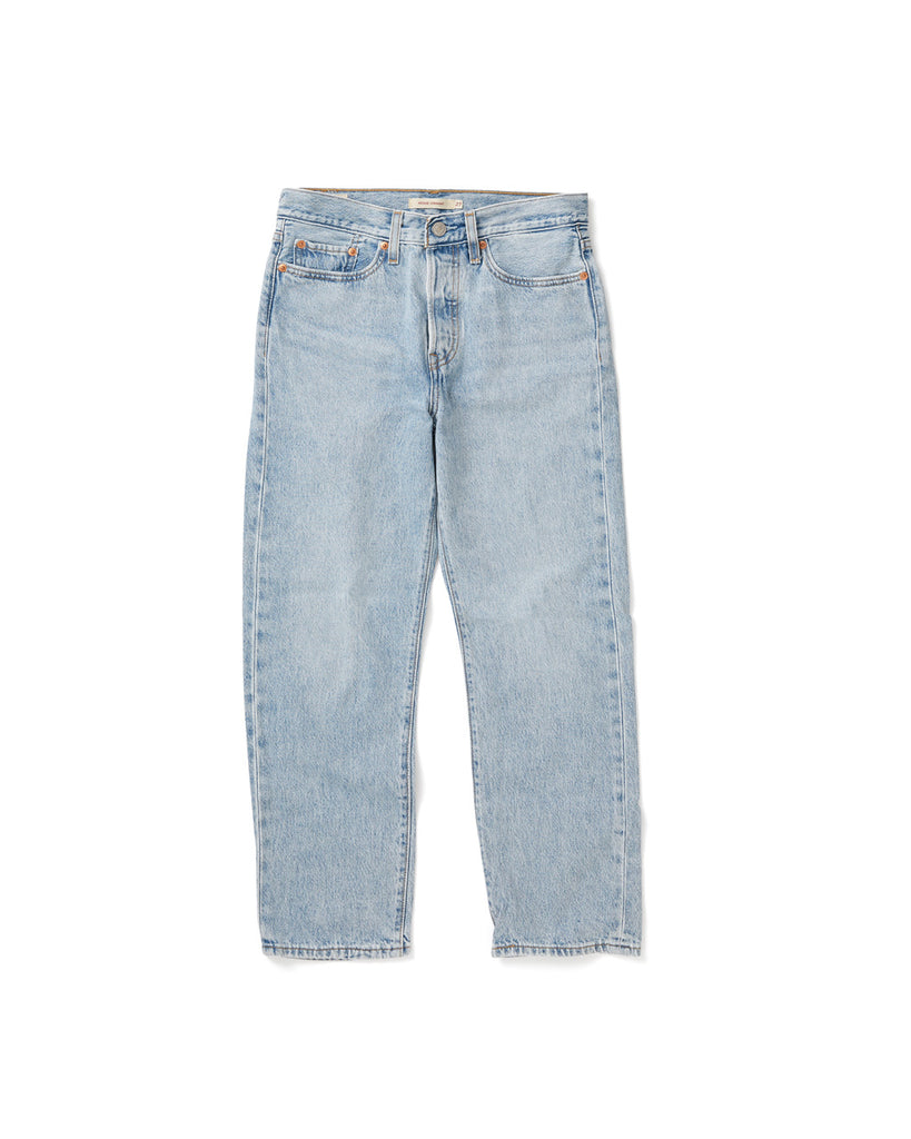 straight leg jeans with a vintage wash