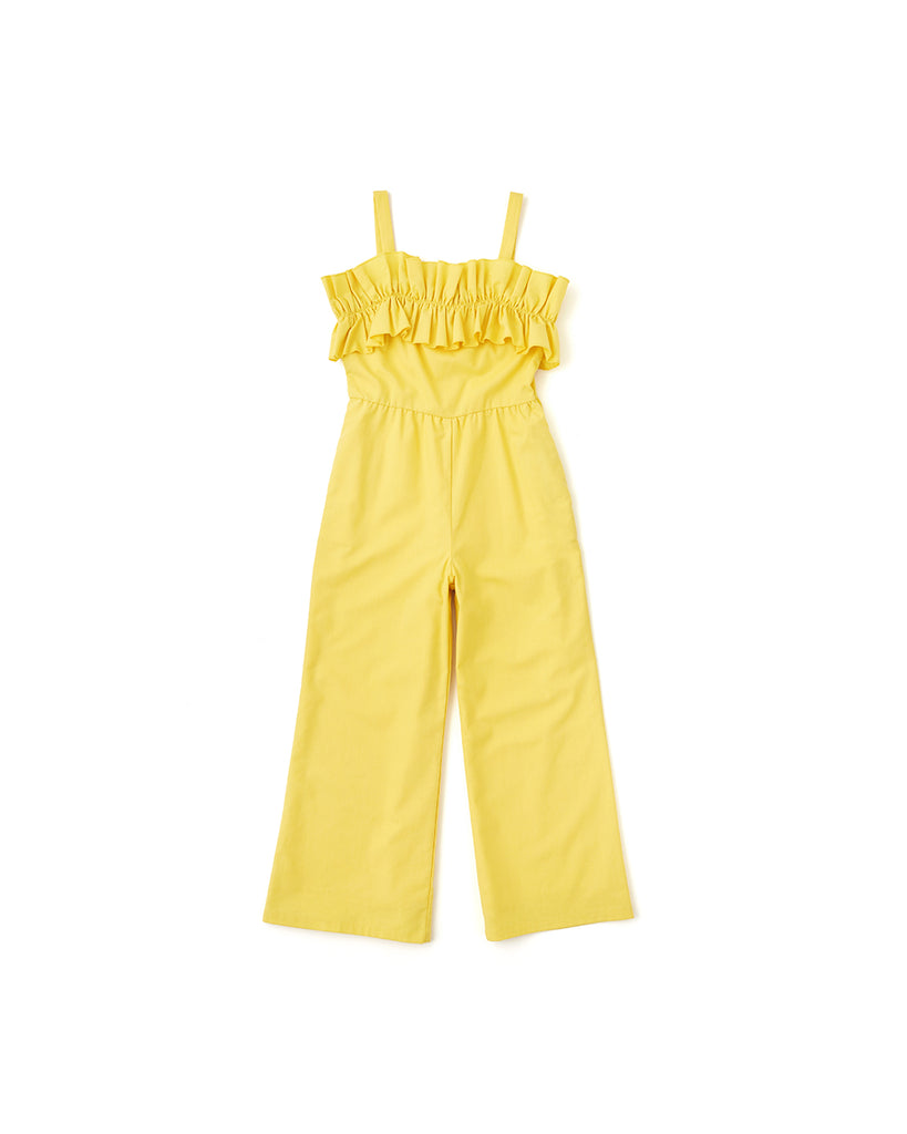 gia ruffle jumpsuit