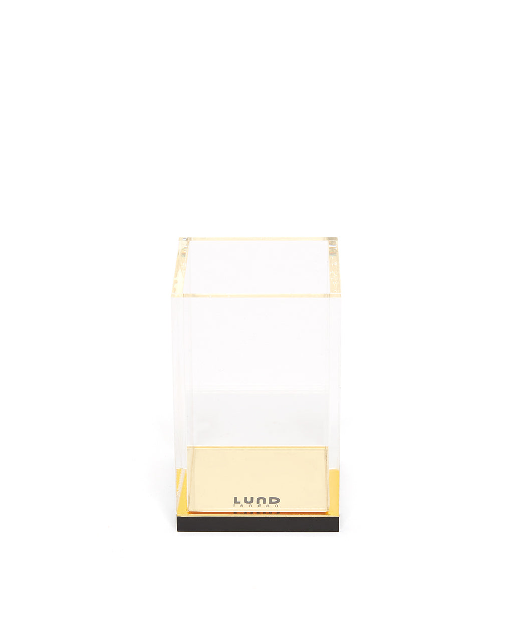 flash gold acrylic pencil cup