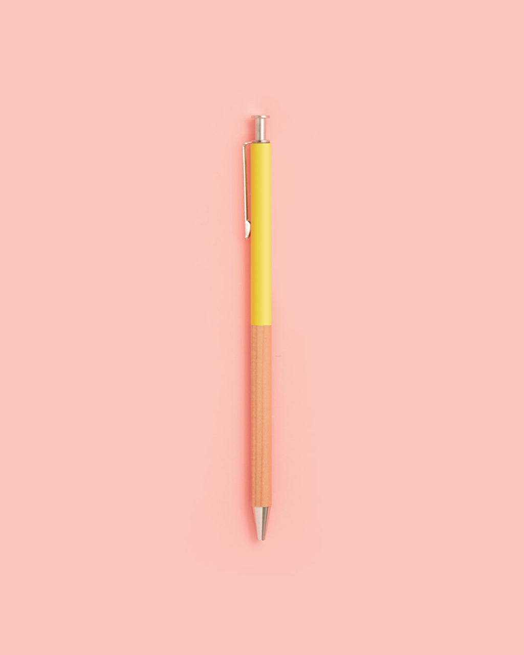 ballpoint pen yellow by mark 39 s japan pen. Black Bedroom Furniture Sets. Home Design Ideas