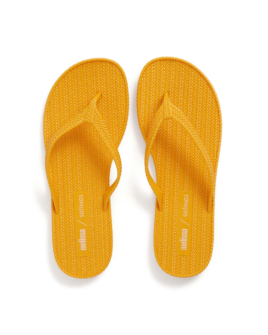 67534cb8a Braided Flip Flop - Yellow Orange by melissa shoes - shoes - ban.do