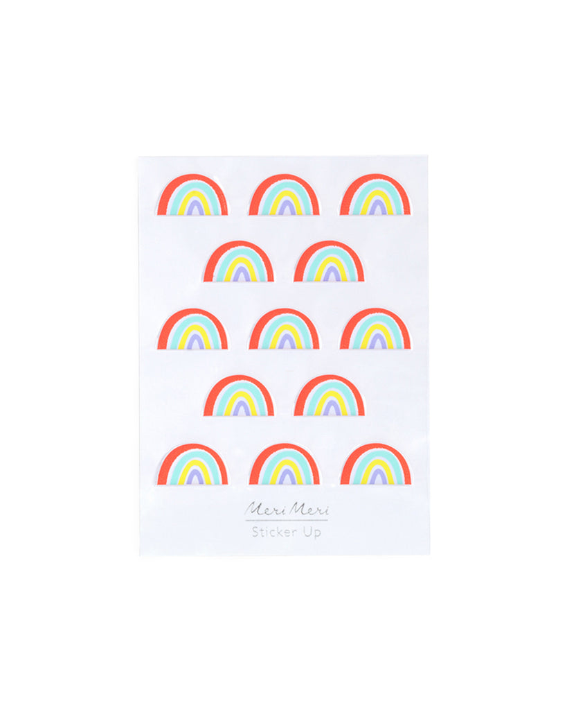 stickers - puffy rainbows