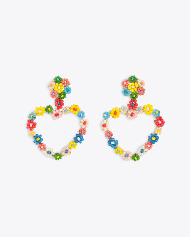 Sublime Heart Earrings