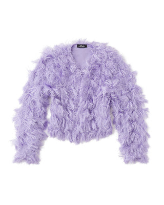 fur ball bomber jacket