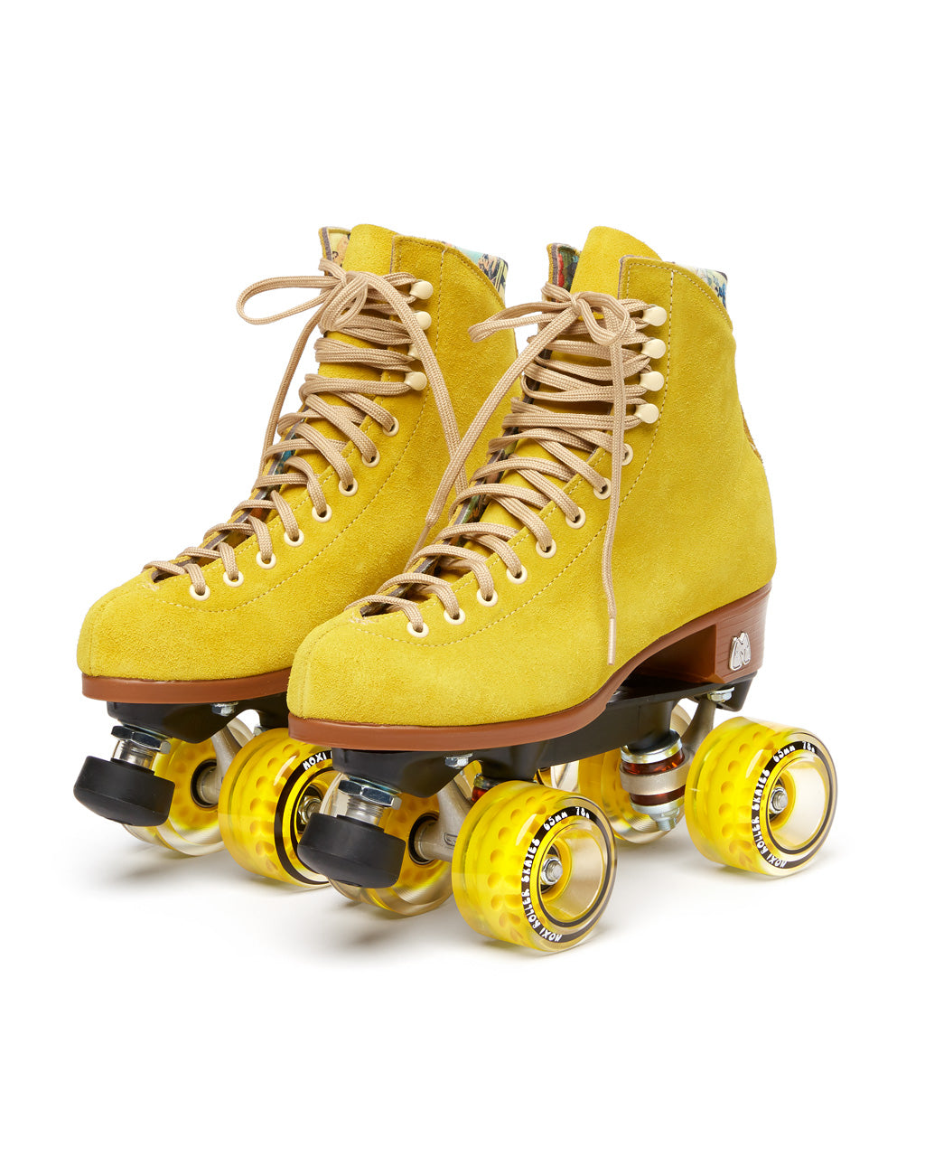 These Lolly Roller Skates by Moxi Roller Skates come in pineapple yellow.