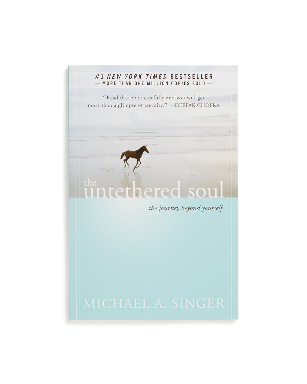 'The Untethered Soul' by Michael A. Singer in paperback.