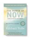 'The Power of Now' by Eckhart Tolle in paperback.