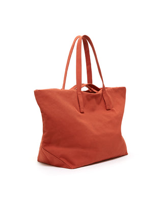 weekend bag - rust