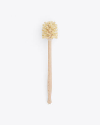 dish brush with long wooden handle