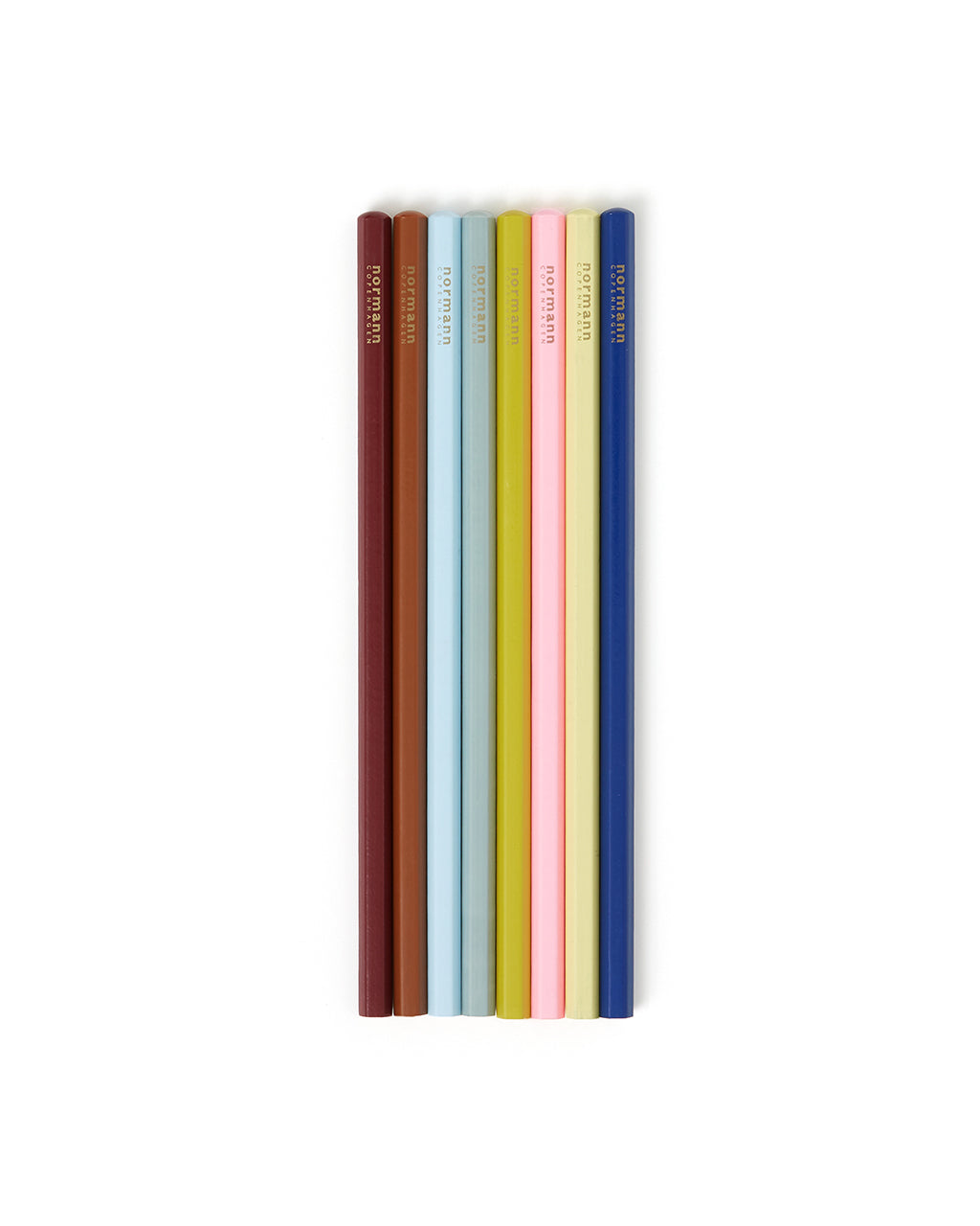 Multi Colored Pencils - 8 Pack by normann - pencil - ban.do
